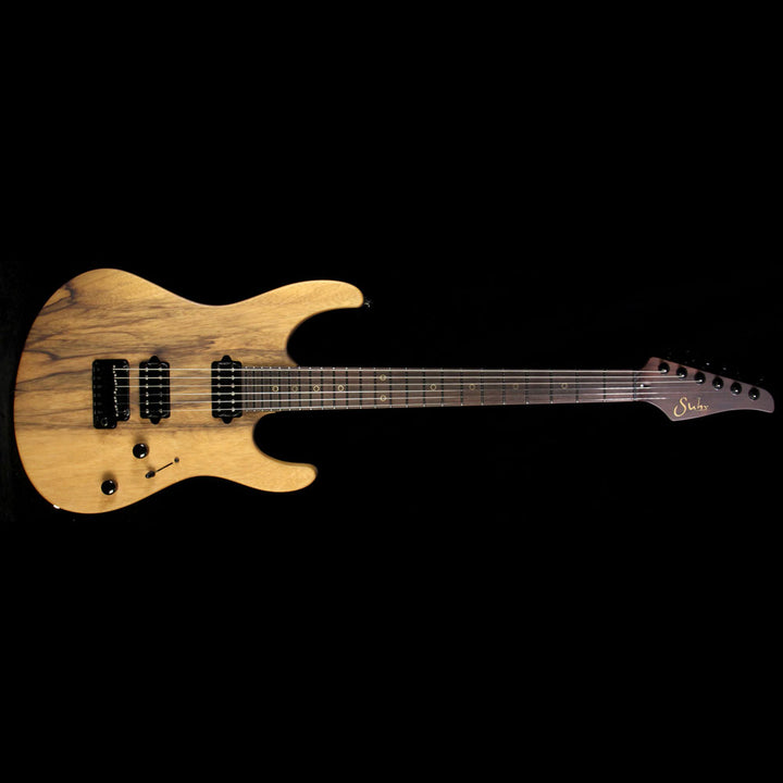 Suhr Modern Black Limba with Indian Rosewood Neck Electric Guitar Satin Natural 31873