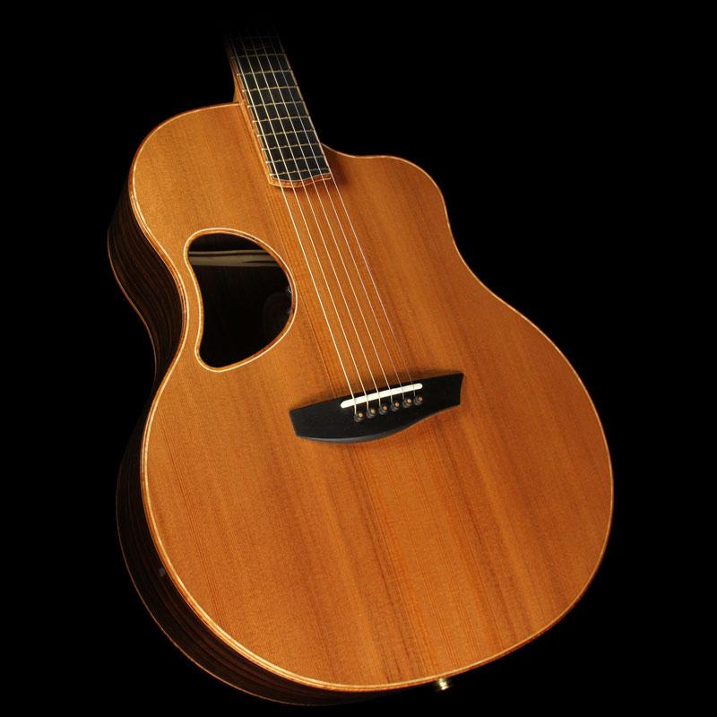 McPherson 4.0 XP California Redwood and Macassar Ebony Acoustic Guitar Natural