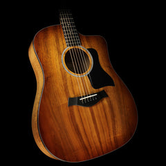 Taylor 220ce-K Deluxe Koa Dreadnought Acoustic-Electric Guitar Shaded Edgeburst