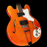Used Mosrite Celebrity Semi-Hollow Electric Guitar Orange
