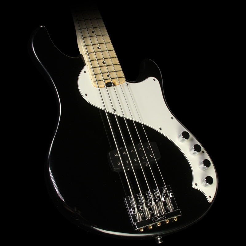 Used Fender American Deluxe Dimension Bass V Electric Bass Guitar Black