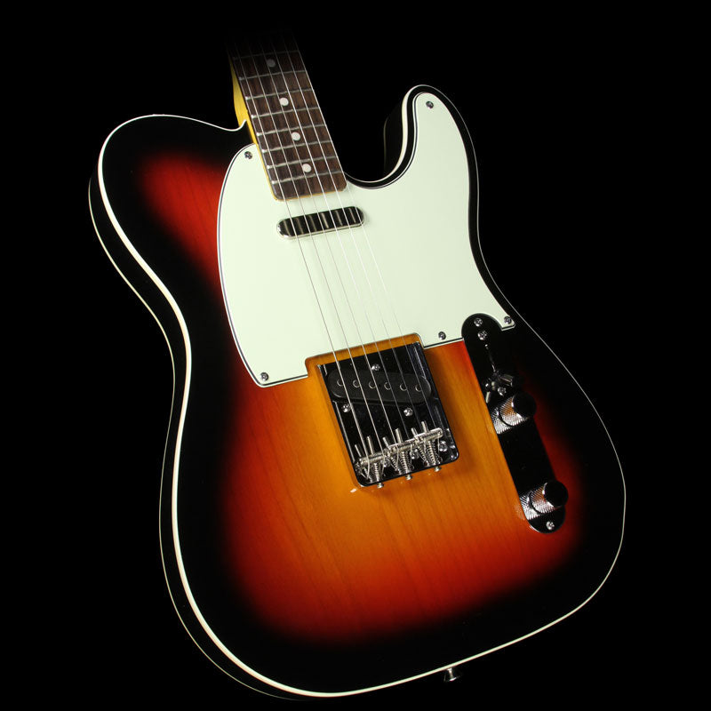 Used Squier Fender Classic Vibe Telecaster Custom Electric Guitar 3-Tone Sunburst