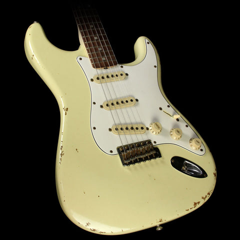 Used Fender Custom Shop '68 Stratocaster Relic Electric Guitar Vintage White