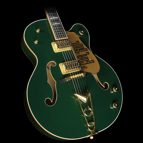 Used 2012 Gretsch G6136I Bono Irish Falcon Electric Guitar Soul Green