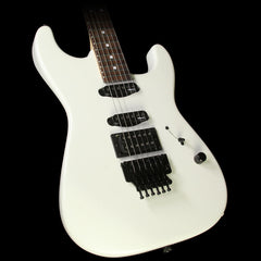 Used Charvel USA Select  San Dimas HSS Electric Guitar Snow White