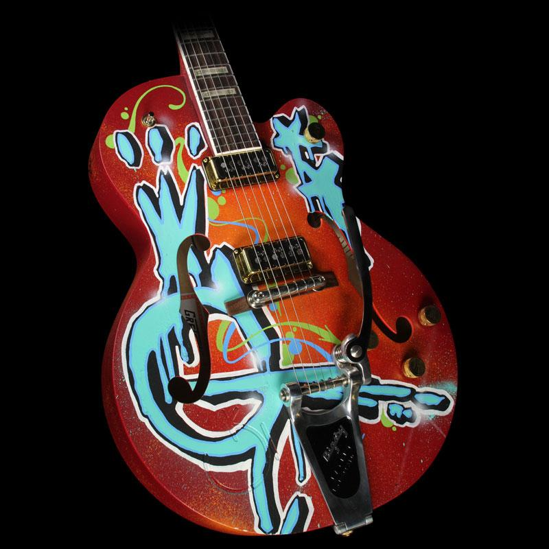 Gretsch G6120 Kaves Brooklyn Graffiti Nashville Electric Guitar