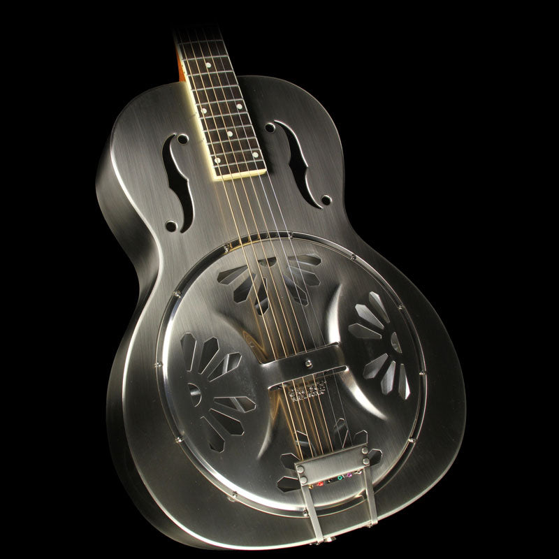 Gretsch G9221 Bobtail Steel Roundneck Acoustic-Electric Resonator Guitar
