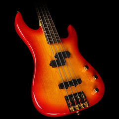 Used Valley Arts California Pro P/J Electric Bass	Cherry Sunburst