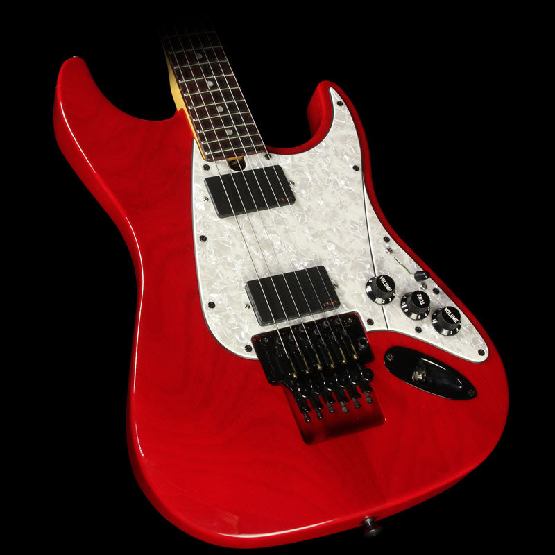 Used Floyd Rose Guitar Redmond Series Electric Guitar Trans Red