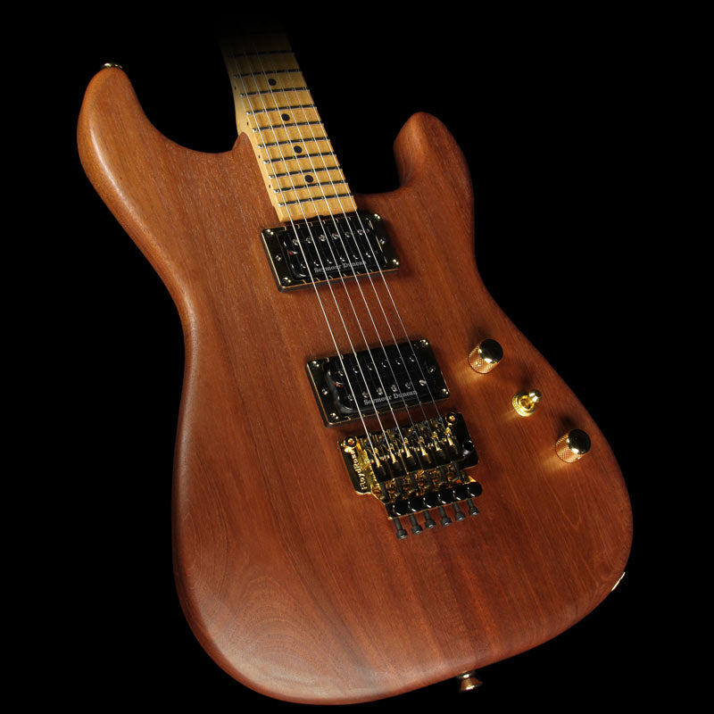 Charvel Custom Shop Roasted Mahogany San Dimas Electric Guitar Natural