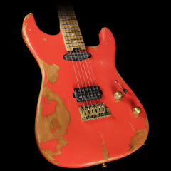 Charvel Custom Shop Nitro Ultra Aged San Dimas Electric Guitar Fiesta Red