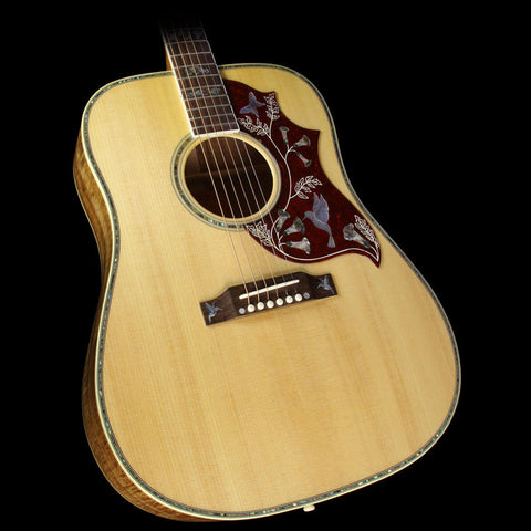 Gibson Montana Limited Edition Hummingbird Custom Koa Acoustic Guitar Antique Natural