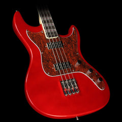 Hofner Galaxie Electric Bass Candy Apple Red