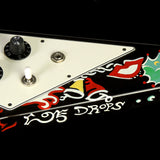 Used 2006 Gibson Custom Shop Jimi Hendrix Psychedelic Flying V Hand Painted Electric Guitar