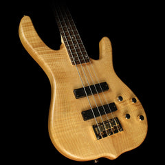 Used 2014 Ken Smith Design KSDB4 Burner Deluxe Electric Bass Natural