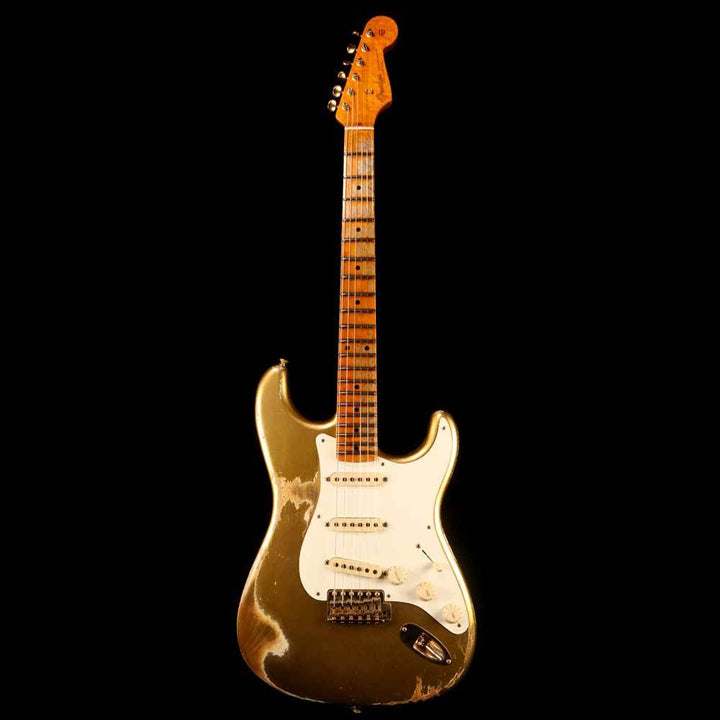 Fender Custom Shop '56 Stratocaster Heavy Relic Aztec Gold R98249