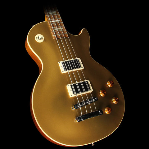 Used 2011 Gibson Les Paul Standard Electric Bass Goldtop