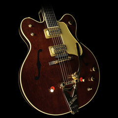 Gretsch G6122T-62GE Vintage Select Edition 1962 Chet Atkins Country Gentleman with Bigsby Electric Guitar Walnut Stain