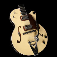 Gretsch G6112TCB-JR Center Block Junior Electric Guitar 2-Tone Jaguar Tan and Copper Metallic