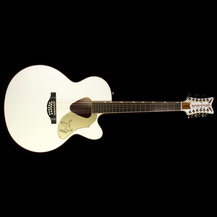 Used Gretsch G5022CWFE-12 Rancher Falcon White 12-String Acoustic Guitar 2714025505