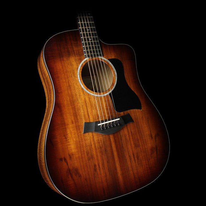Used Taylor 220ce-K Deluxe Koa Dreadnought Acoustic Guitar Shaded Edgeburst 2109126450