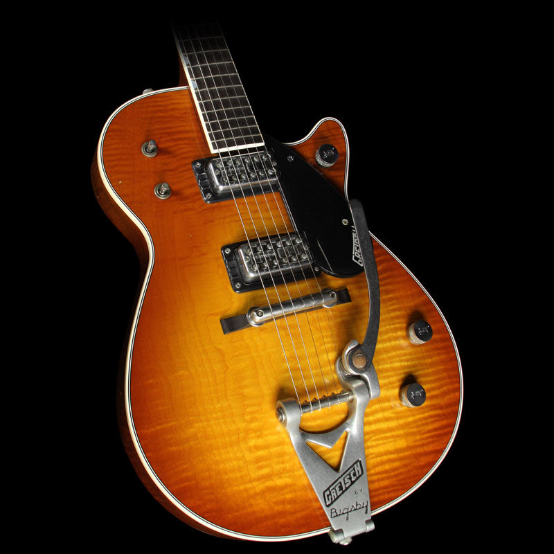 Used 2013 Gretsch Custom Shop G6128CS '59 Duo Jet Relic	Electric Guitar Two-Tone Sunburst