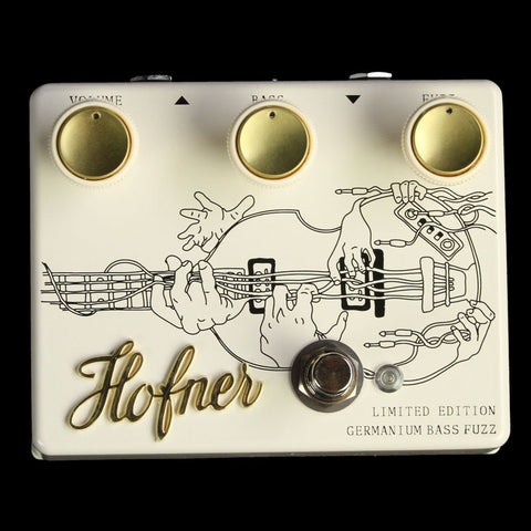 Hofner Handmade Bass Germanium Fuzz Effects Pedal