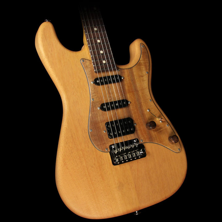 Used Suhr Classic Roasted Maple Neck Electric Guitar Natural JS3U1K