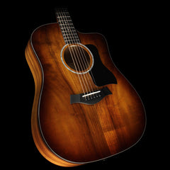 Taylor 220ce-K Deluxe Koa Grand Auditorium Acoustic-Electric Guitar Shaded Edgeburst