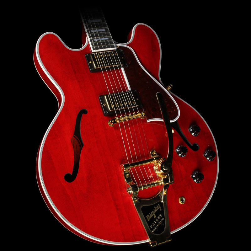 Gibson Memphis ES-355 Bigsby VOS Electric Guitar Sixties Cherry Gloss