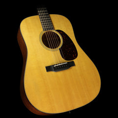 Used 2013 Martin D-18 Mahogany Dreadnought Acoustic Guitar Natural
