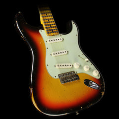 Used 2013 Fender Custom Shop Music Zoo Exclusive '60 NoNeck Stratocaster Heavy Relic Electric Guitar 3-Tone Sunburst