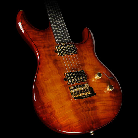 Used Ernie Ball Music Man Luke III Ball Family Reserve Electric Guitar Koa Island Burst