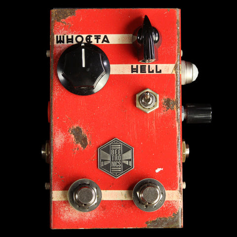 Beetronics Whoctahell Low Octave Fuzz Standard Series Effects Pedal