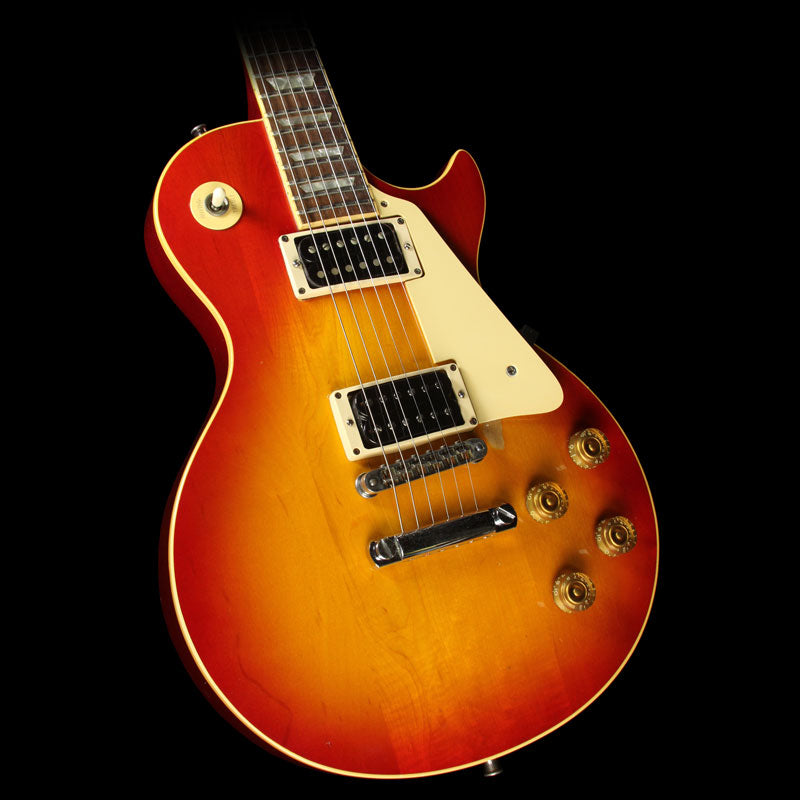Used 1981 Gibson Les Paul Deluxe Electric Guitar Sunburst