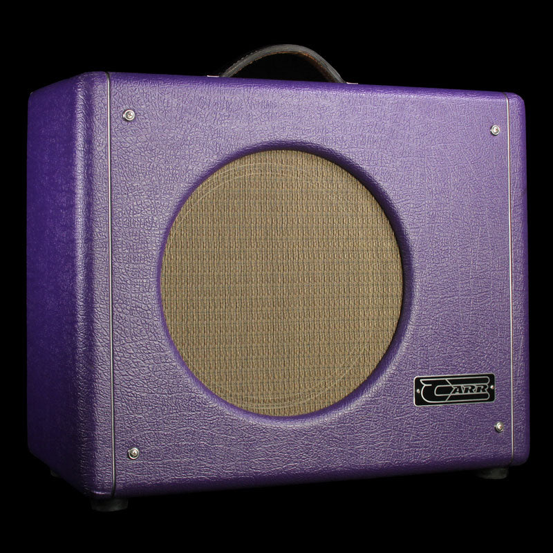 Used Carr Mercury Guitar Combo 1x12 Amplifier Purple
