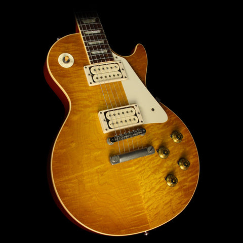 Used 2010 Gibson Custom Shop '59 Les Paul VOS Electric Guitar Lemonburst