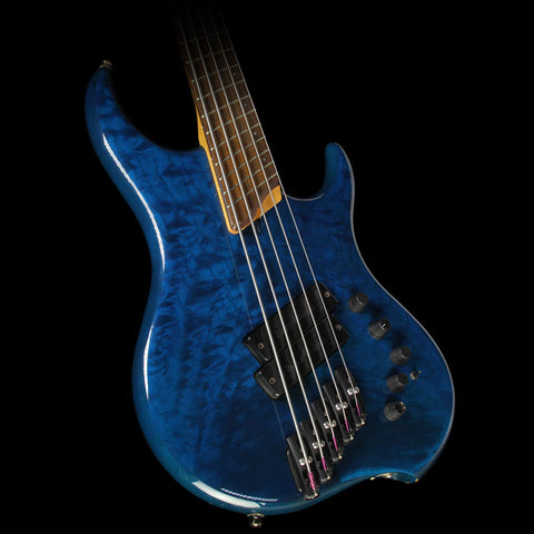 Used Dingwall Z2 5-String Electric Bass Teal Burst