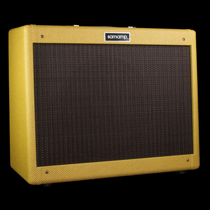 Samamp V.S.C. 1x12 Electric Guitar Combo Amplifier Tweed with Oxblood Grille