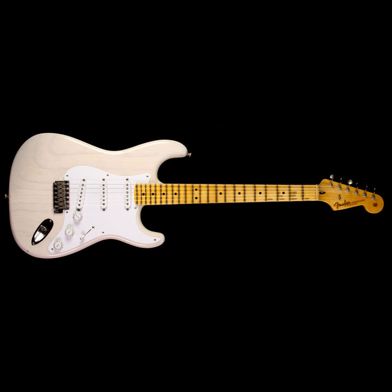 Fender Custom Shop Masterbuilt Todd Krause Eric Clapton Stratocaster Journeyman Relic Electric Guitar Aged White Blonde