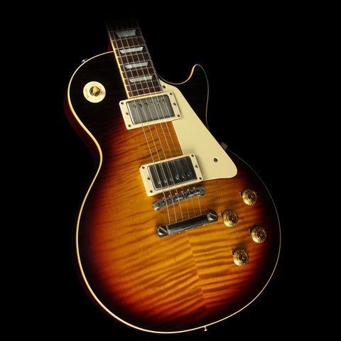 Used 2015 Gibson Custom Shop Murphy Aged True Historic 1959 Les Paul Reissue Electric Guitar Aged Vintage Dark Burst