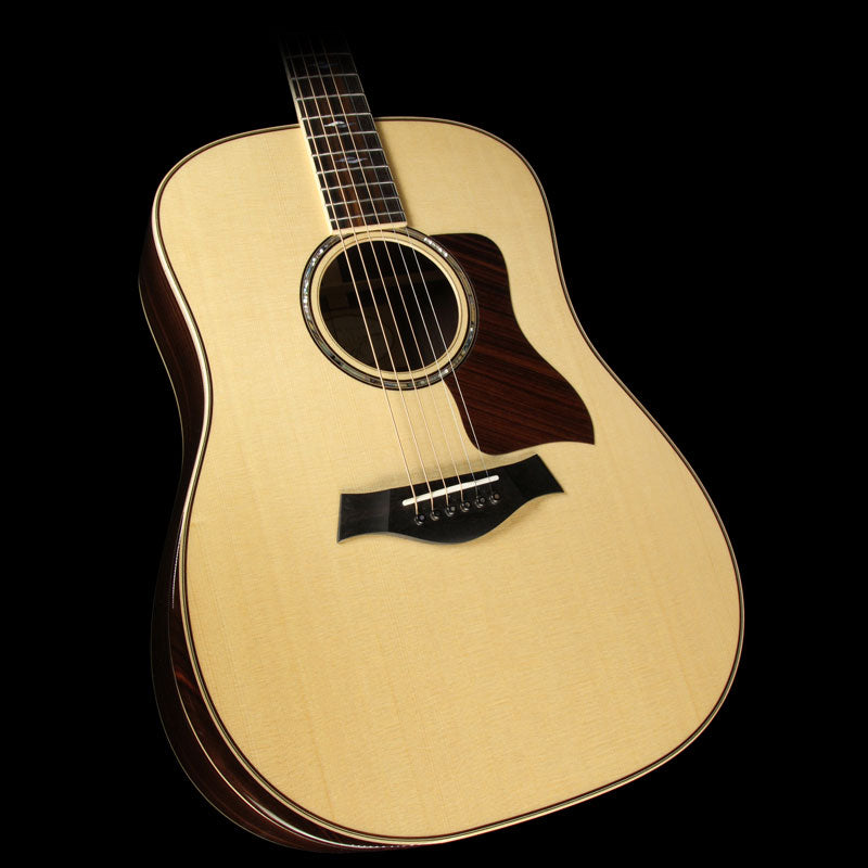 Taylor 810e Deluxe Dreadnought Acoustic/Electric Guitar Natural