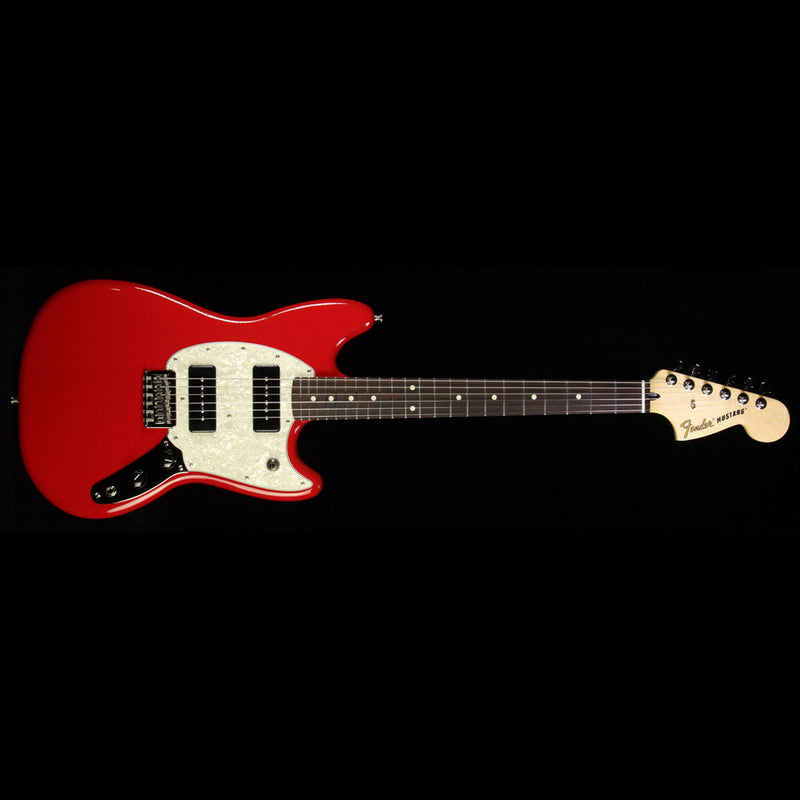 Used Fender Mustang 90 Electric Guitar Torino Red 0144040558