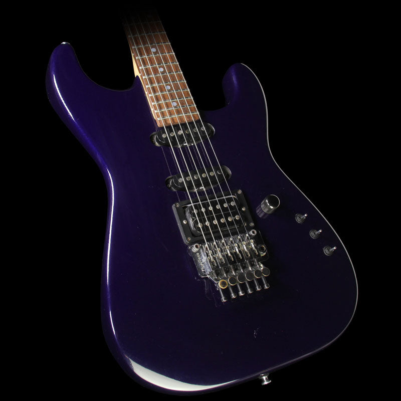Used 1987 Jackson Soloist Electric Guitar Purple