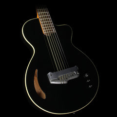 Willcox Atlantis Thinline HexFX Acoustic-Electric Guitar Black