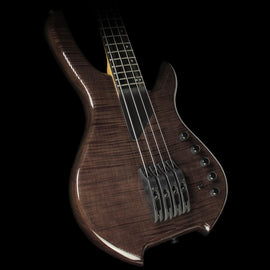 Willcox Saber VL 4-String Fretted Electric Bass Trans Black