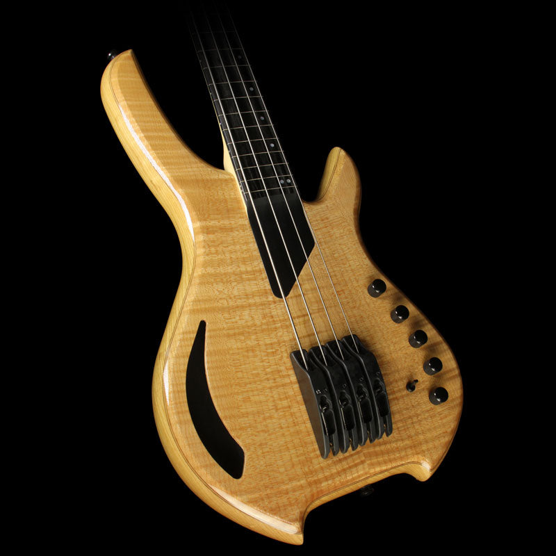 Willcox Saber VL 4-String Fretless Electric Bass Trans Natural