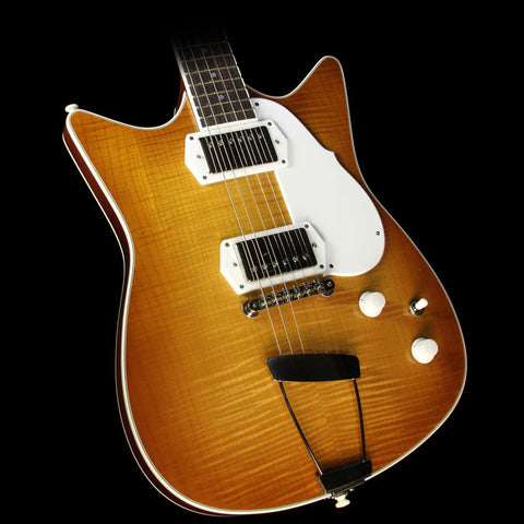 Frank Brothers Signature Model Electric Guitar Amber Sunburst