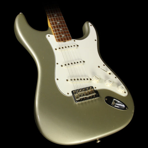Used 2006 Fender Custom Shop '65 Stratocaster Relic Guitar Shoreline Gold