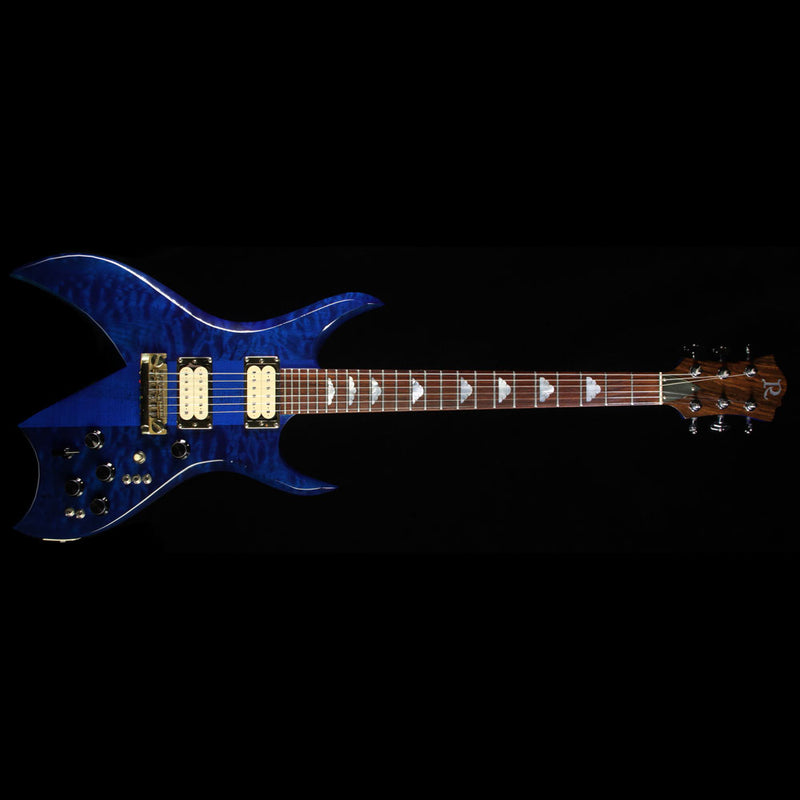 used 1982 b c rich bich electric guitar trans blue the music zoo. Black Bedroom Furniture Sets. Home Design Ideas